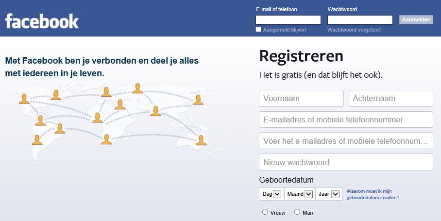 Facebook privacy persoonlijk
