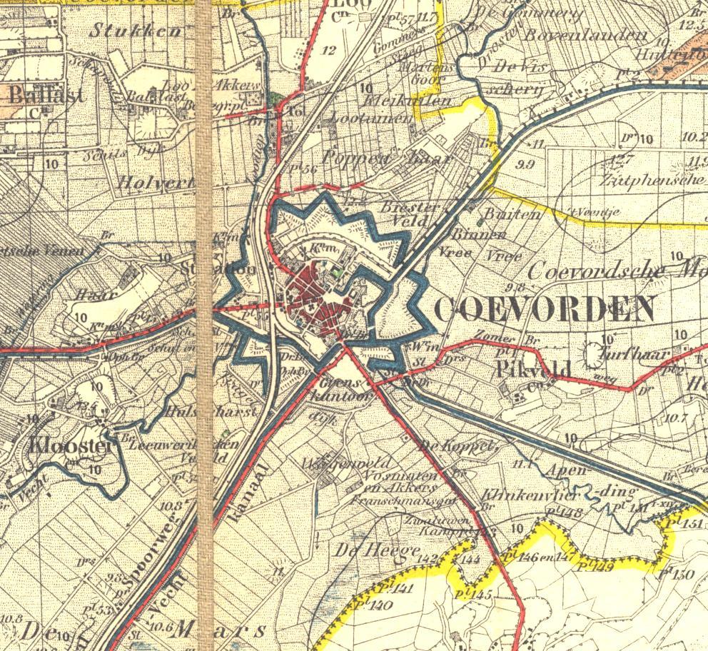 Verhuizen naar Coevorden